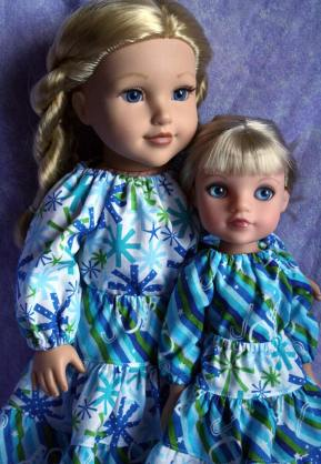 Sewing patterns for dolls. Oh Sew Kat! 18 inch animators welliewishers hearts for hearts