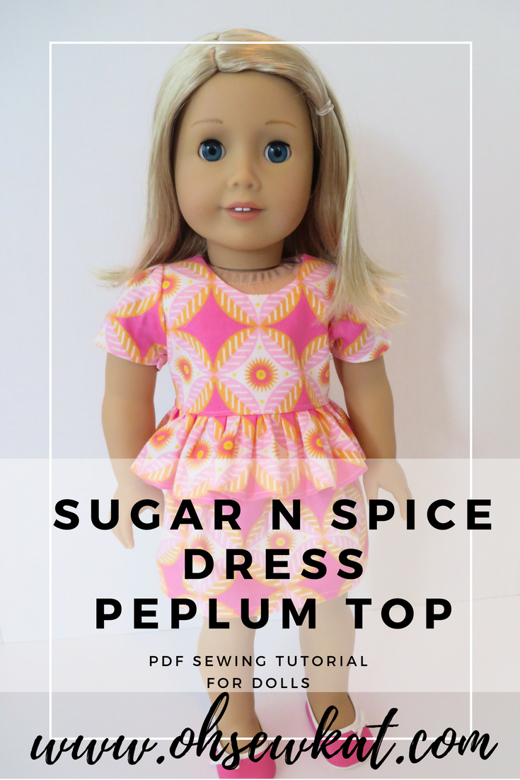 Sugar n Spice Step it Up Make a Peplum Top by oh sewkat