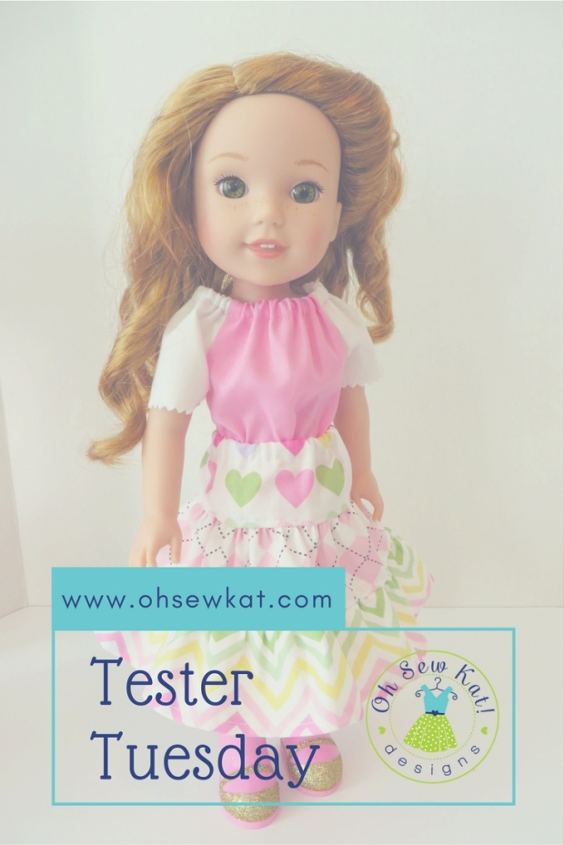 Doll Clothes for welliewishers dolls by oh sew kat