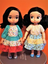 Animators sewing patterns for doll clothes by oh sew kat
