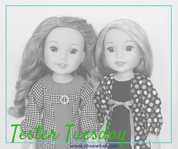 doll dress sewing pattern for welliewishers dolls