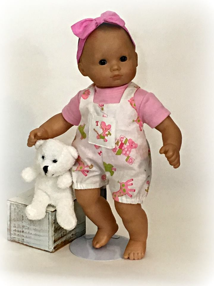 Bitty Baby and Bitty Twin sewing patterns from oH Sew Kat