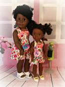 HalterAlls sewing pattern for dolls and wellie wishers