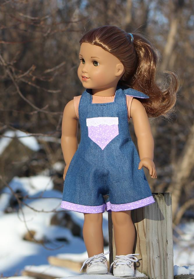 HalterAlls sewing pattern for American Girl dolls