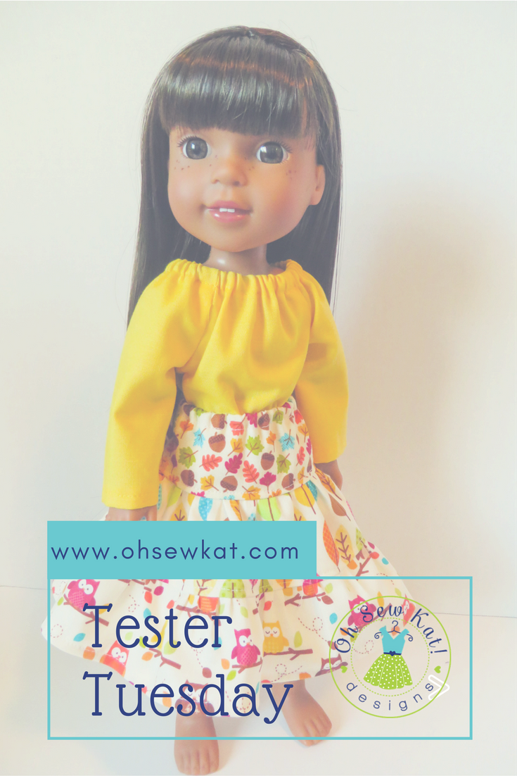 Doll Clothes sewing patterns by OH Sew Kat