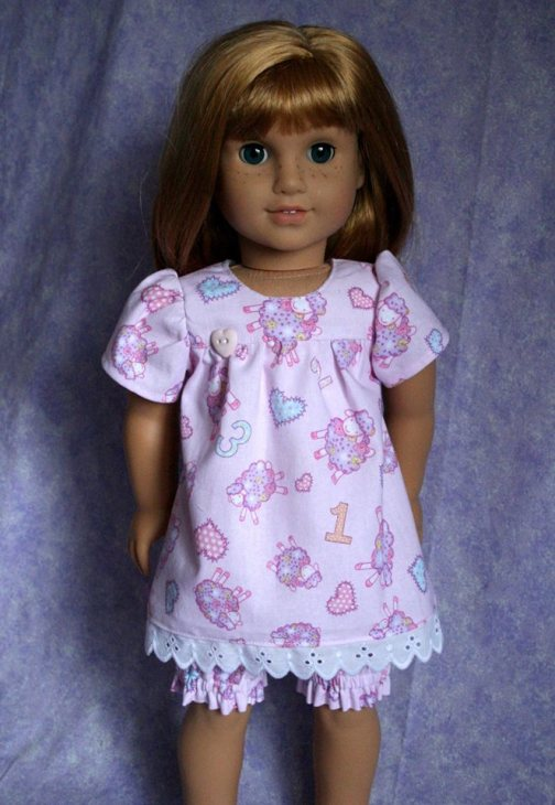 Bloomer Buddies Sewing pattern for dolls by Oh Sew Kat!