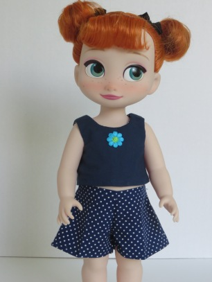 Sandbox Shorts for Disney Animators dolls