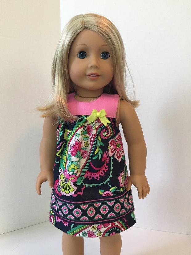 Vera Bradley Bloomer Buddies Doll Dress by Oh Sew Kat!