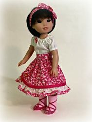 Oh Sew Kat Party Time Peasant Dress Sewing pattern 4