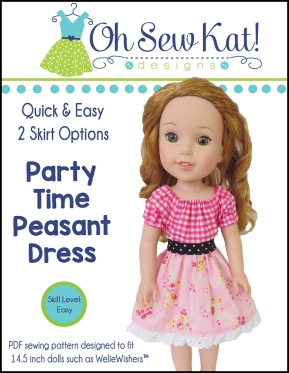 OSK Party Time Peasant Dress WW Cover