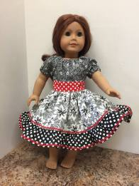 Party Time Peasant Dress Sewing pattern by Oh Sew Kat! 4