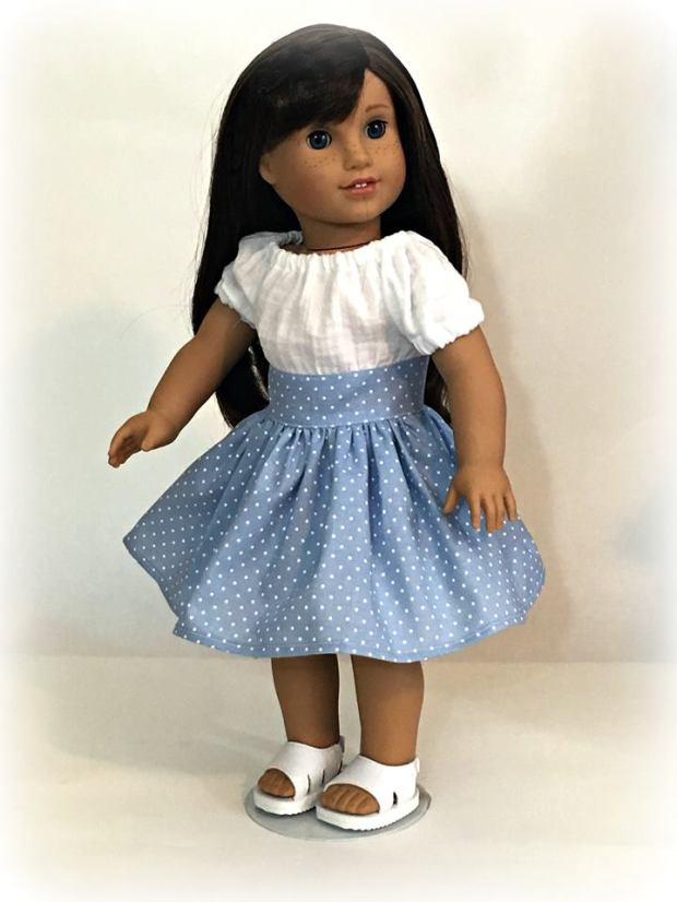 Sewing patterns for 18 inch dolls by Oh Sew Kat! Party Time