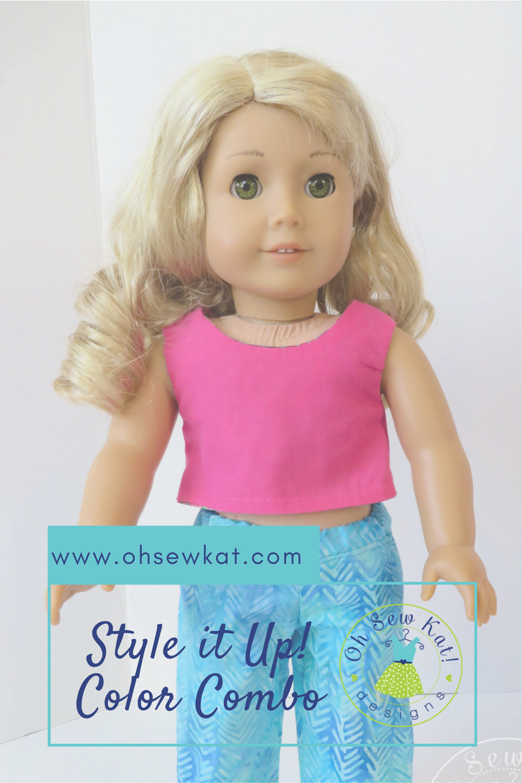 Style it Up color by oh sew kat