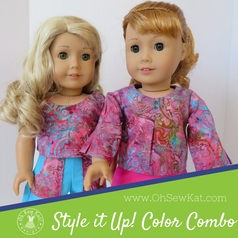 Style it Up color combo for dolls
