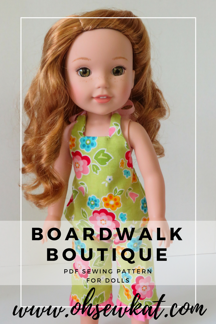 sewing patterns for dolls by oh sew kat boardwalk boutique (2)