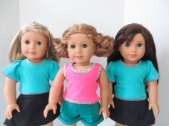 Tee shirt pattern for 18 inch dolls