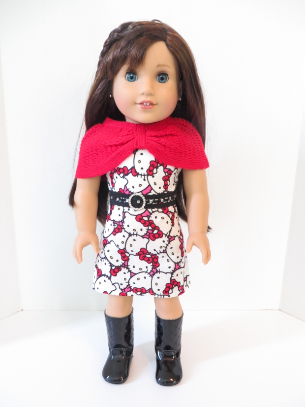 Hello Kitty dress for dolls by Oh Sew Kat!