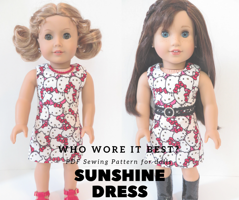 Sewing patterns for dolls by Ohsewkat