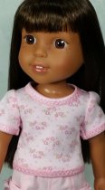 Tee Shirt for wellie wishers doll clothes to sew