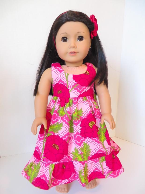 Make a Hawaiian Dress for dolls
