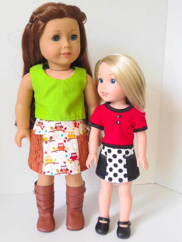 Skirt pattern for dolls by ohsewkat