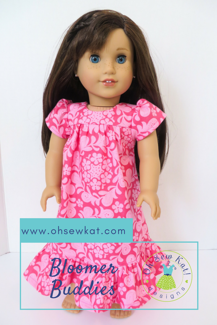 Hawaiian Dress Sewing pattern for dolls by ohsewkat