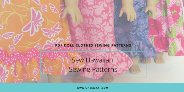 Sewing patterns for Nanea Hawaiian Dresses by ohsewkat