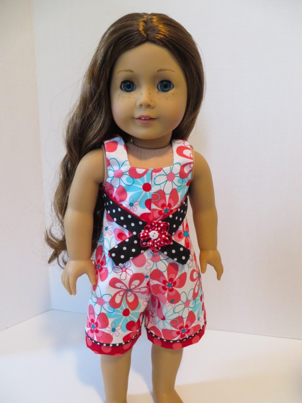Saige Girl of the Year American Girl doll halter outfit sewing pattern