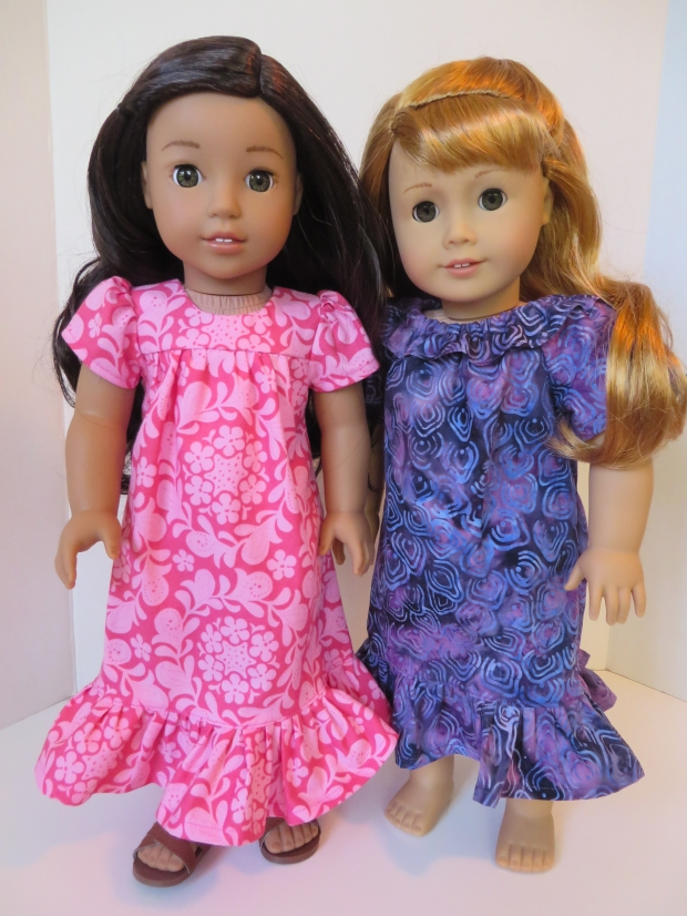 Easy to sew Hawaiian dress for dolls