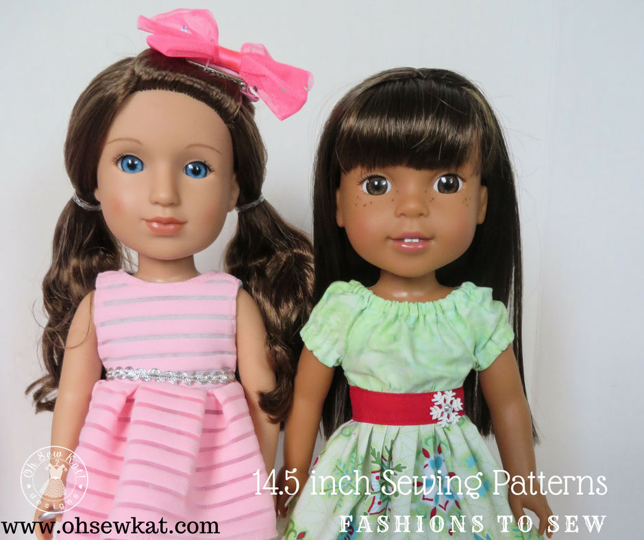 Glitter Girls dolls Review by Oh Sew Kat (1)