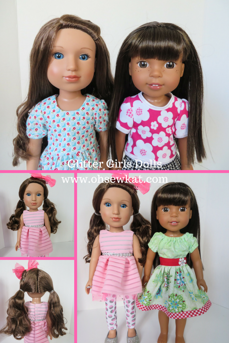 Glitter Girls Sewing Patterns by Oh Sew Kat!
