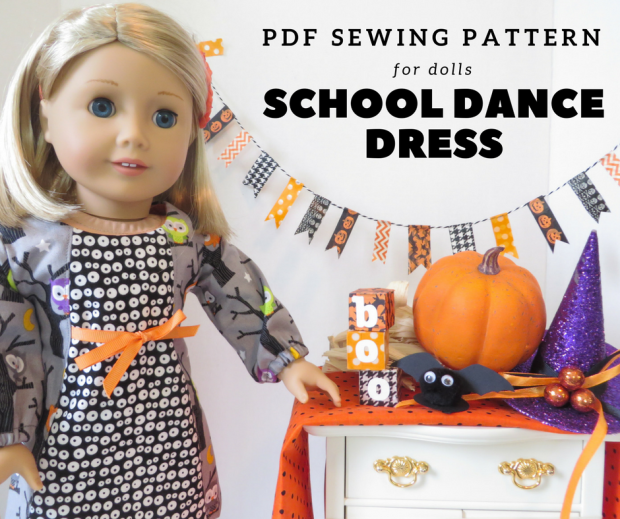Halloween crafts for dolls by Oh Sew Kat!