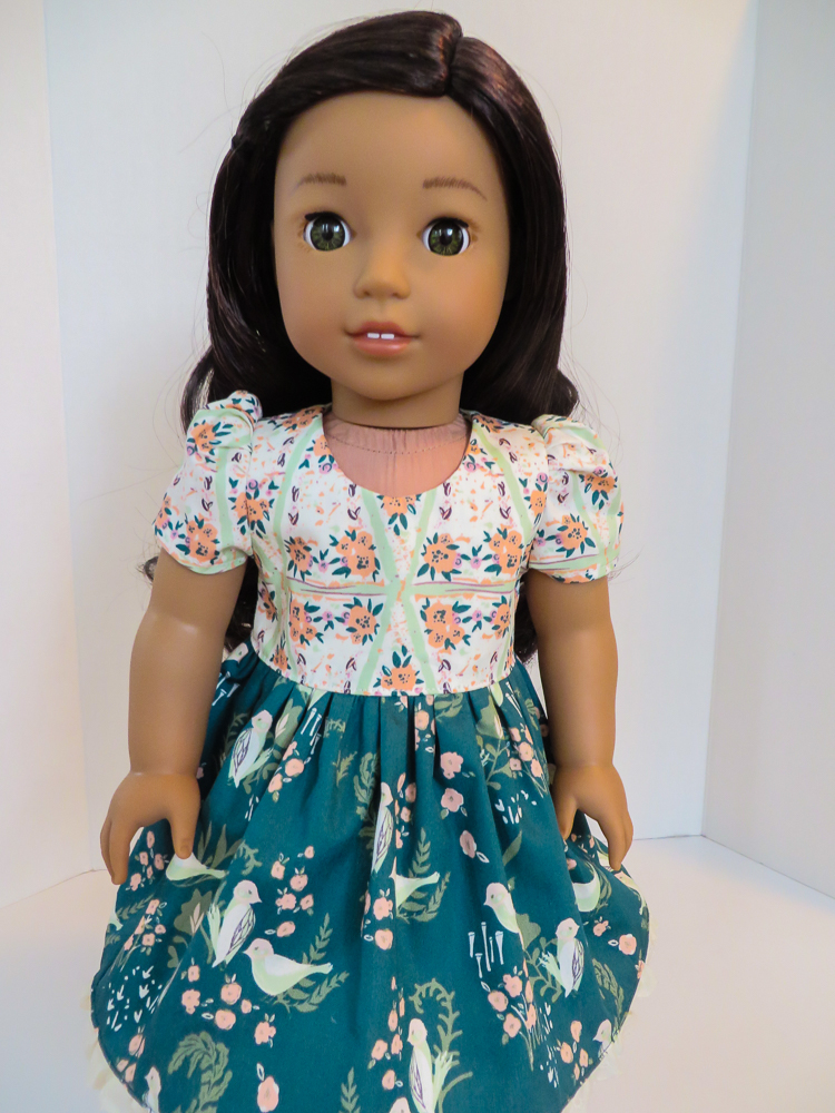 Sewing Patterns for doll dresses by oh sew kat
