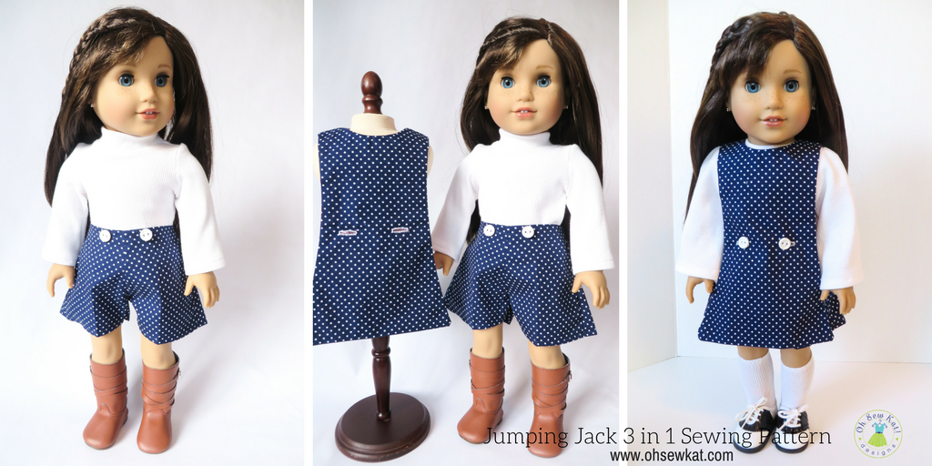Jumping Jack 3 in 1 Jumper Set Sewing Pattern – Oh Sew Kat!