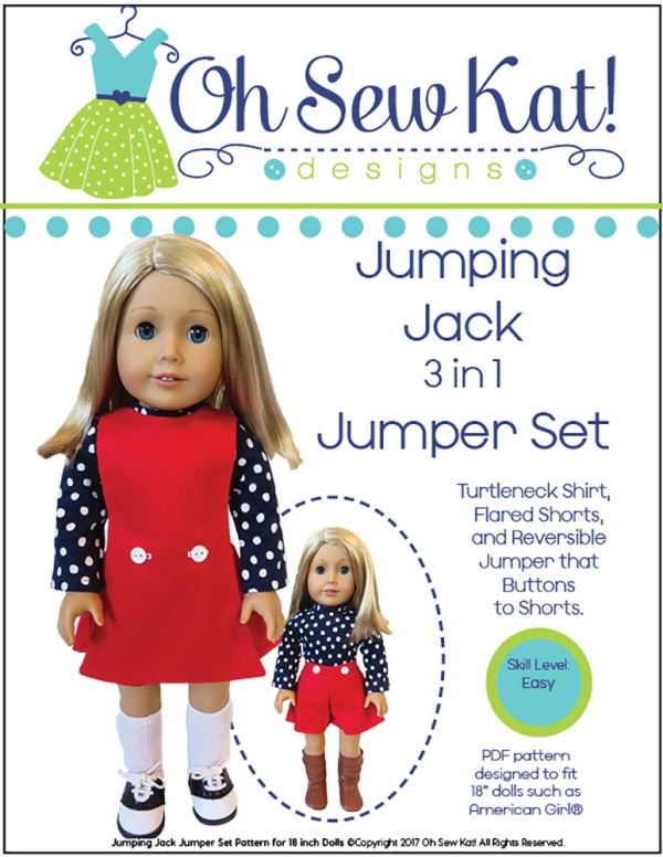 1970s doll clothes sewing pattern ohsewkat
