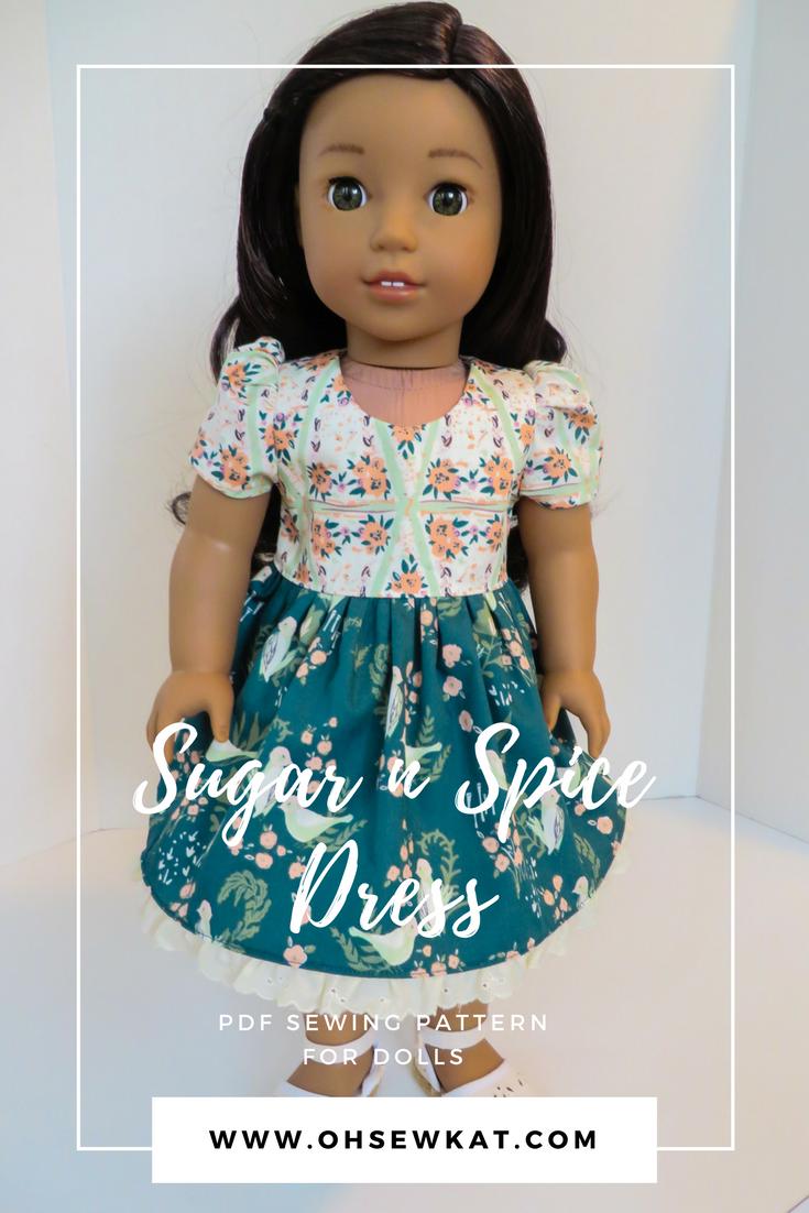 Bonnie Christine fabric dress by oh sew kat