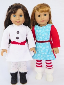Sewing patterns for dolls Oh Sew Kat holidays (27)