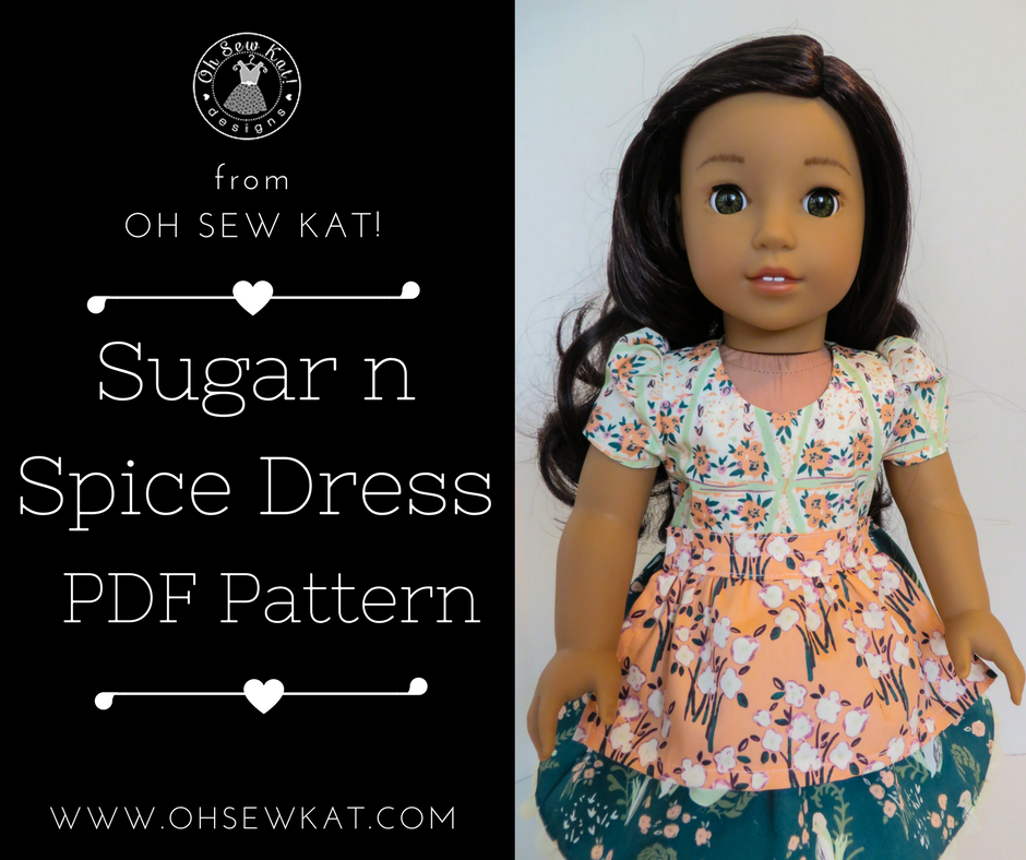 sew a doll dress by oh sew kat