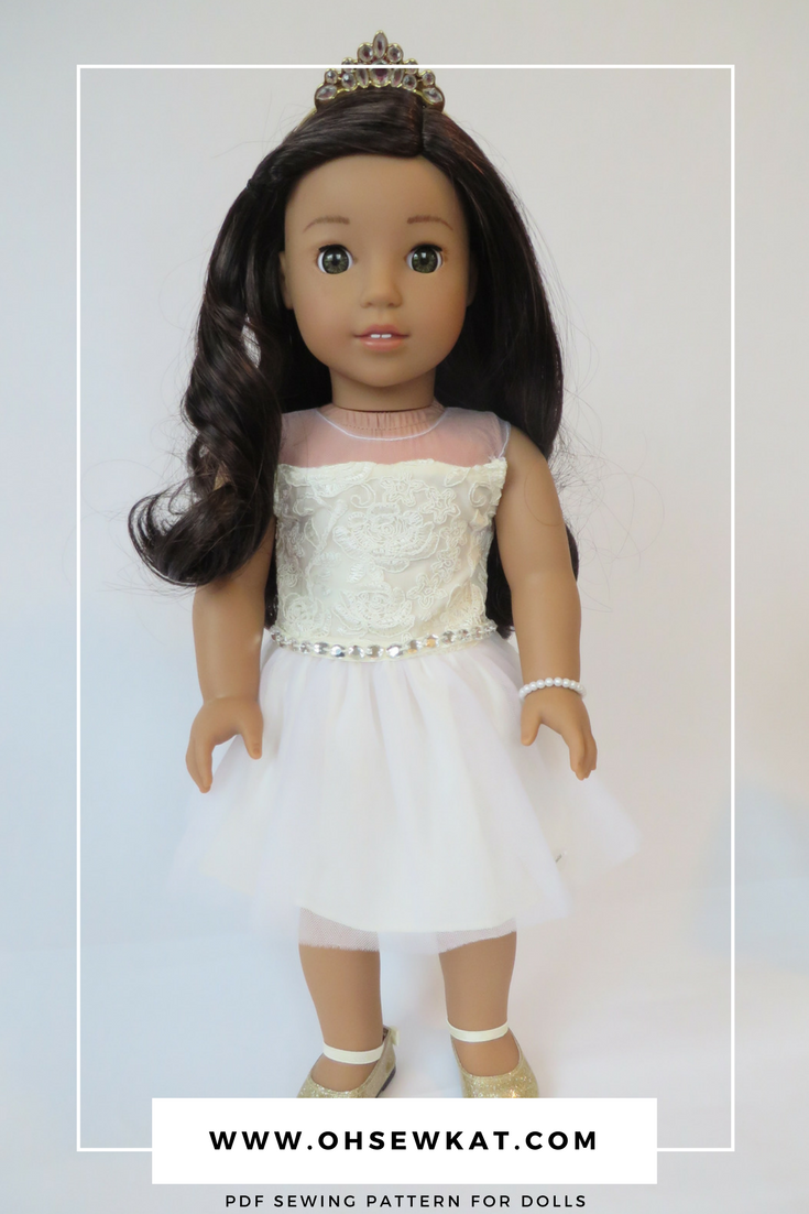 Celebration Dress by American Girl review on Oh Sew Kat