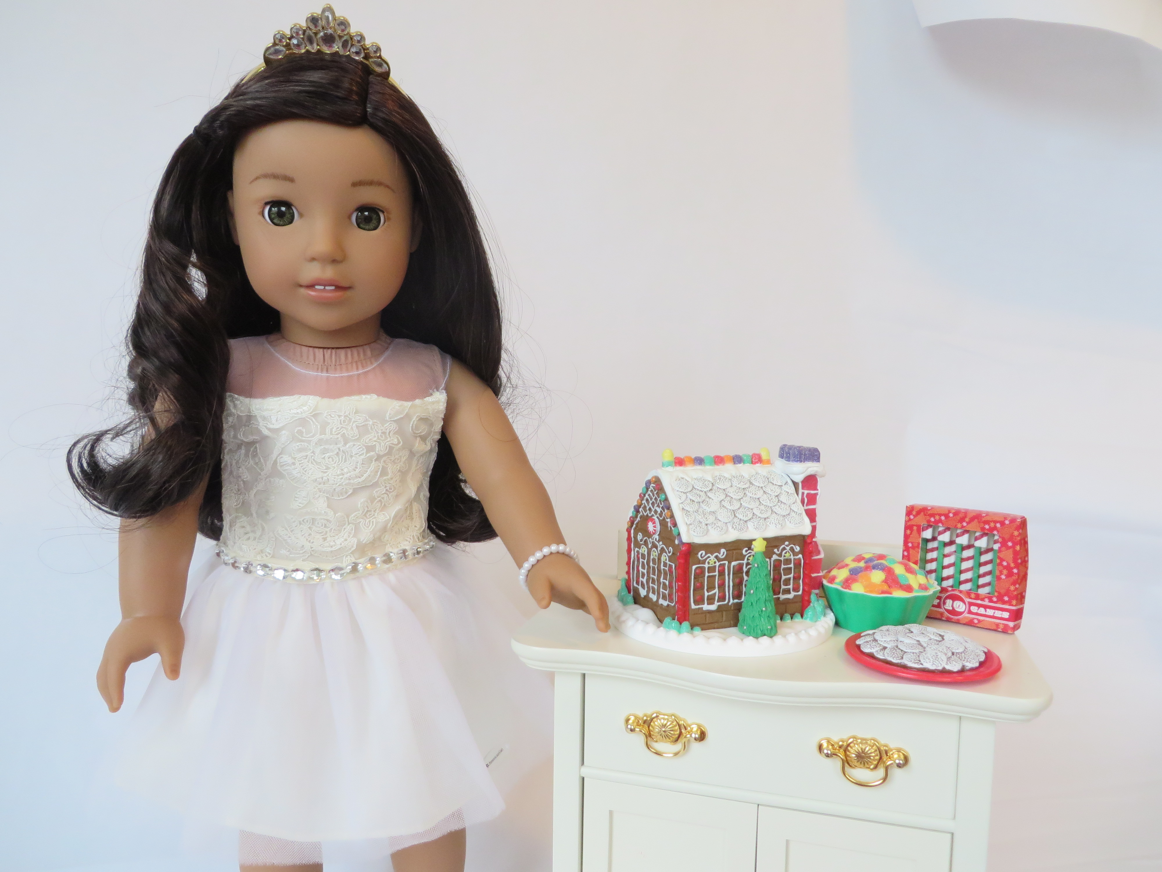 Celebration dress for dolls on Nanea