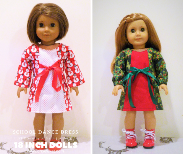 Holiday Doll Dresses