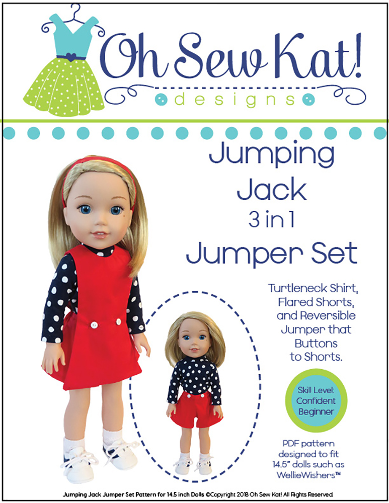 Sewing pattern for wellie wishers by Oh Sew Kat