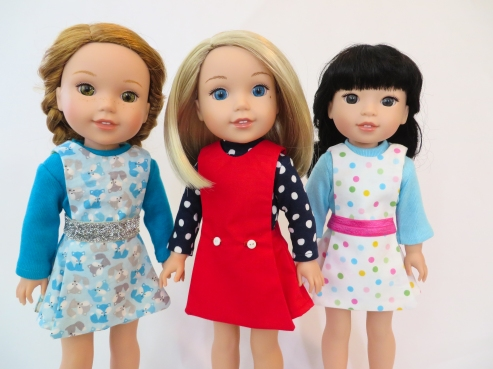 Sewing patterns for wellie wishers dolls