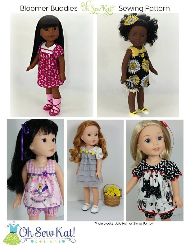 wellie wishers dolls in spring dresses