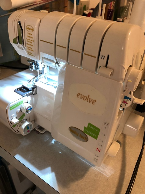 Bernina Serger Evolve