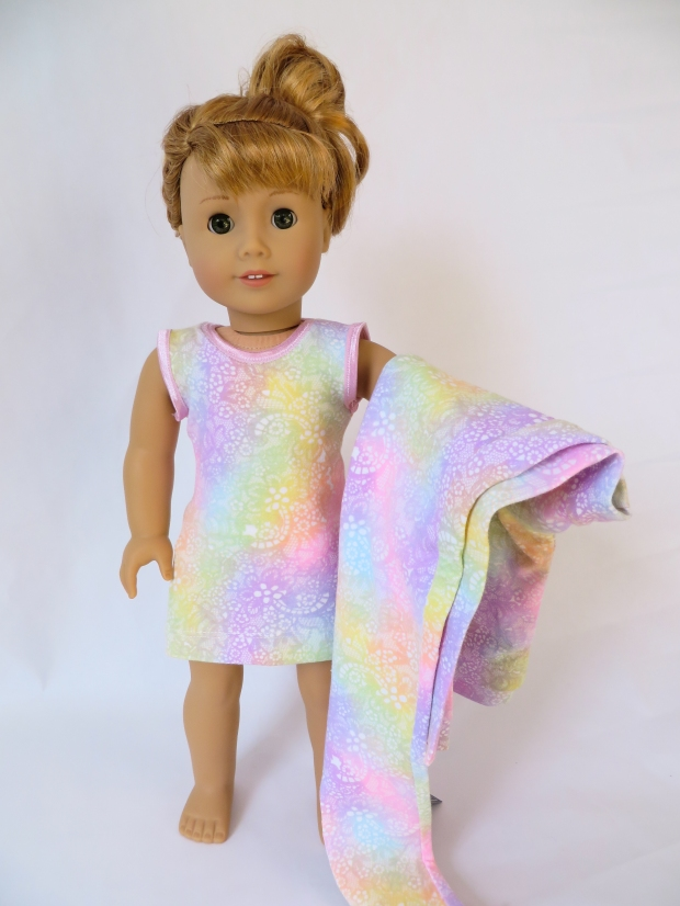 Maryellen American Girl doll in a knit tank dress