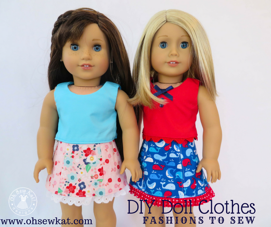 American girl dolls sewing patterns