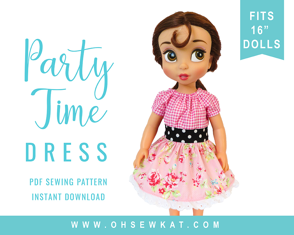 Animators Sewing pattern for dolls