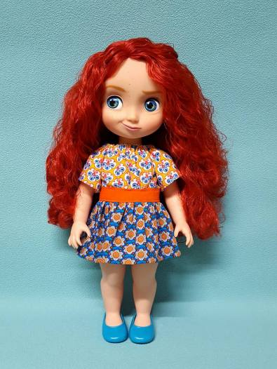 Party Time Peasant Dress for Animators Dolls 7