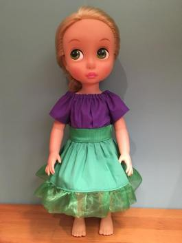 Party Time Peasant Dress for Animators Dolls 8